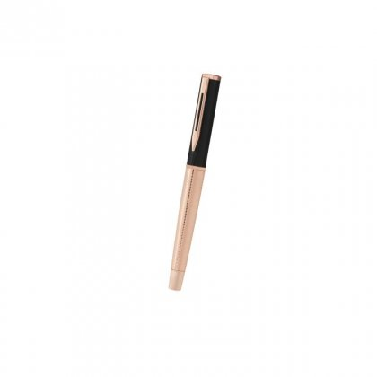 Personalized Continetal Insurance Black-Copper Metal Pen With Box