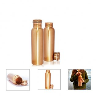Personalized Copper Bottle - 950Ml (J O T T E R S - Cu-950) / Copper