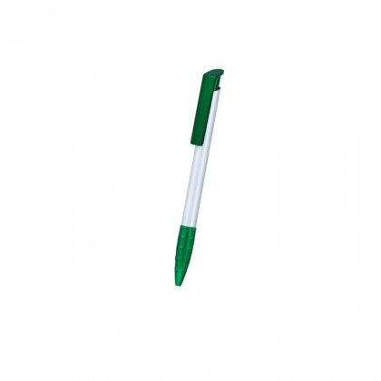 Personalized Dabur Silver-Green Promotional Pen