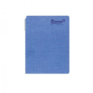 Personalized Daman Organic A5 Notebook (Blue)