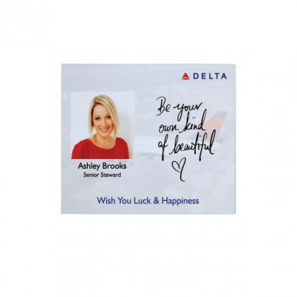 Personalized Delta Airlines Memento