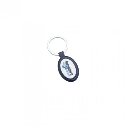 Personalized Discovery Channel Keychain