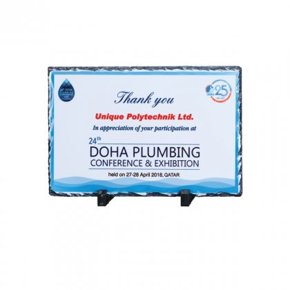 Personalized Doha Plumbing Conference Memento