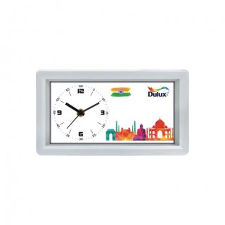 """Personalized Dulux Table Clock (3.5""""X7"""")"""
