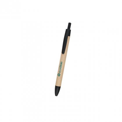 Personalized Eco Ideas Craft-Black Promotional Pen