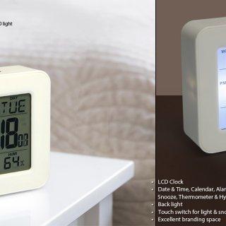 Personalized Elegant Square Clock