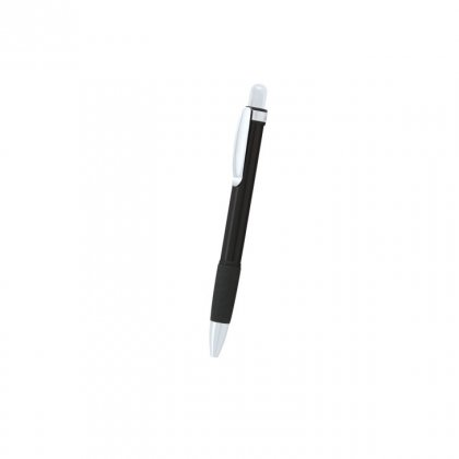 Personalized Elizabeth Arden Black-Silver Metal Pen