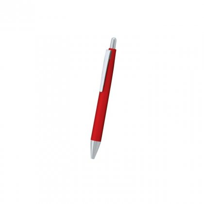 Personalized Eveready Red-Silver Metal Pen