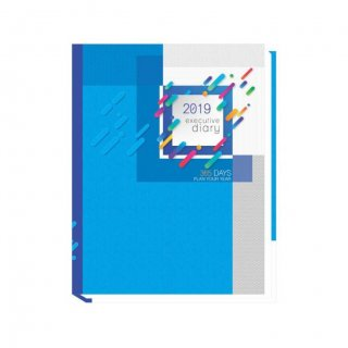 Personalized Executive Diary (Blue)