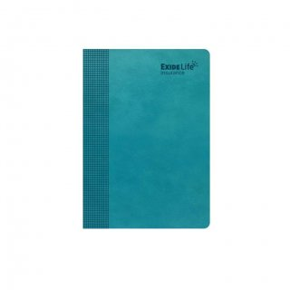 Personalized Exide Life A5 Notebook (Green)