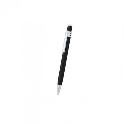 Personalized Faberge Black-Silver Metal Pen