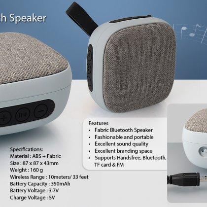 Personalized Fabric Bluetooth Speaker