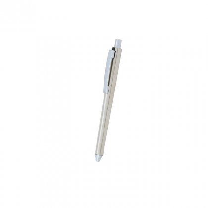 Personalized Farallon Grey-Silver Metal Pen With Box