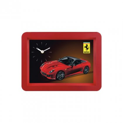 "Personalized Ferrari Wall Clock (6""X9"")"
