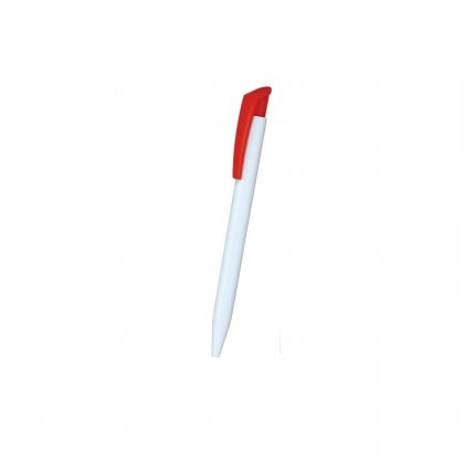 Personalized Fischer White-Red Promotional Pen