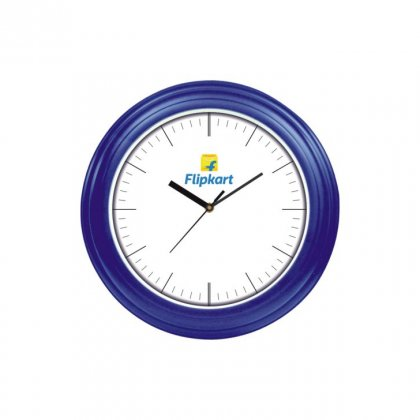 "Personalized Flipkart Ecoline Wall Clock (8"" Dia)"