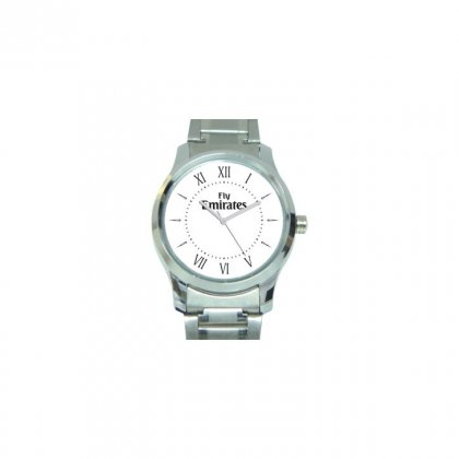 Personalized Fly Emirates Matte Finish Box Wrist Watch