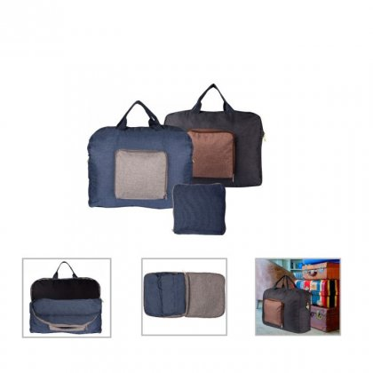 Personalized Folding Duffel Bag (R H Y T H M - Duflpac) / On The Way