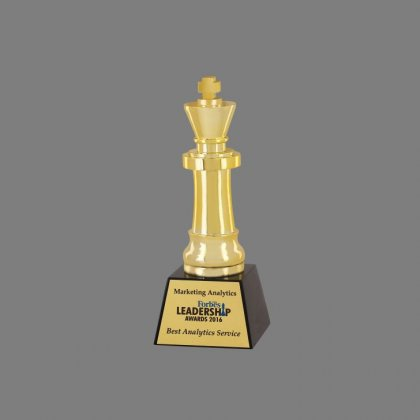 Personalized Forbes King Award Trophy