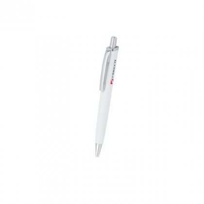 Personalized Forech White-Silver Metal Pen