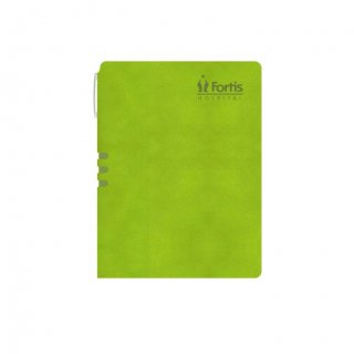 Personalized Fortis A5 Notebook (Green)