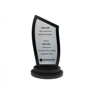 "Personalized Ggi Engraving Area Trophy (2.5""X5.5"")"