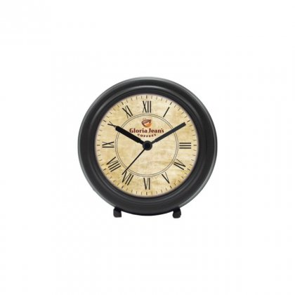 "Personalized Gloria Jeans Table Clock (3.75"" Dia)"
