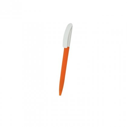 Personalized Gree Orange-White Promotional Pen