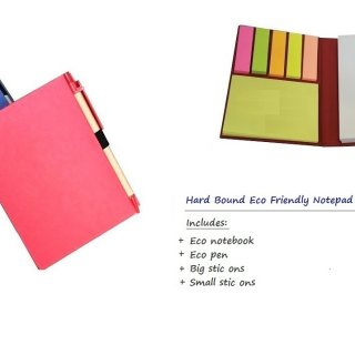 Personalized Hard Bound Eco Notebook