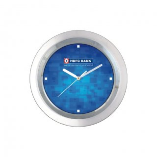 "Personalized Hdfc Bank Wall Clock (9"" Dia)"