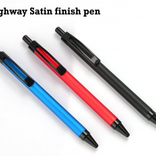 Personalized Highway Satin Finish Pen