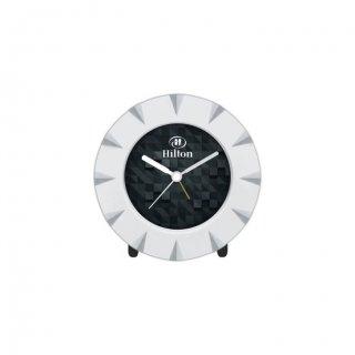 "Personalized Hilton Table Clock (3.25"" Dia)"