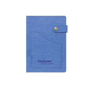 Personalized Hindware A5 Notebook (Blue)
