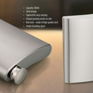 Personalized Hip Flask - 7 Oz.