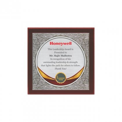 "Personalized Honeywell Printing Size Memento (7"" Dia)"