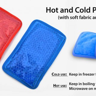 Personalized hot and cold pack
