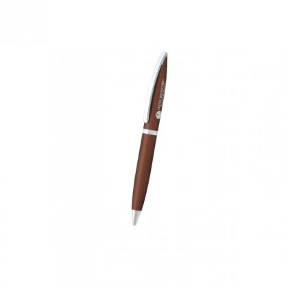Personalized Hotel Baltschug Brown Metal Pen With Box