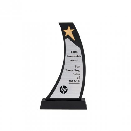 """Personalized Hp Engraving Area Trophy (1.5""""X5"""")"""