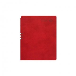 Personalized Hsbc A5 Notebook (Red)