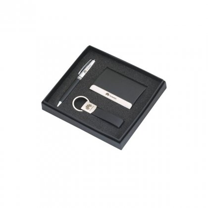Personalized Huwai (Pen + Visiting Card + Key-Chain) Gift Set