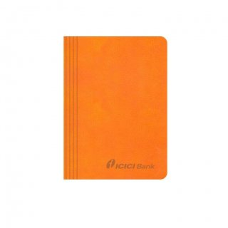 Personalized Icici Bank A6 Notebook