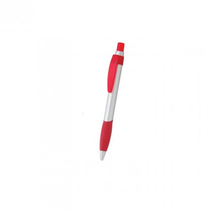 Personalized India Today Silver-Red Promotional Pen