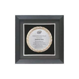 "Personalized Intel Engraving Area Memento (3"" Dia)"
