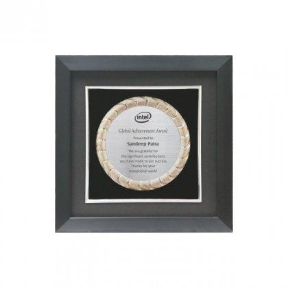 "Personalized Intel Engraving Area Memento (3"" Dia)"