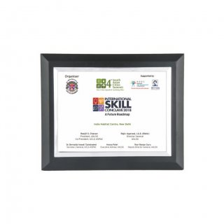 "Personalized International Skill Printing Size Memento (5""X7"")"