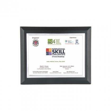 "Personalized International Skill Printing Size Memento (5""X7"")"