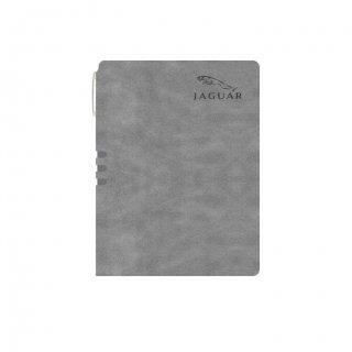Personalized Jaguar A5 Notebook (Grey Color)