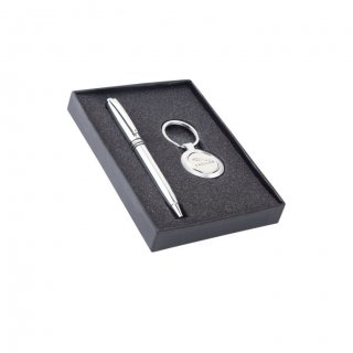 Personalized Jaguar (Ball Pen+ Key-Chain) Gift Set