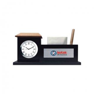 "Personalized Kotak Colour Printing Table Clock (1.5""X3.25"")"
