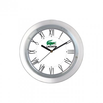 "Personalized Lacoste Wall Clock (9"" Dia)"
